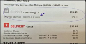sample electric bill 2