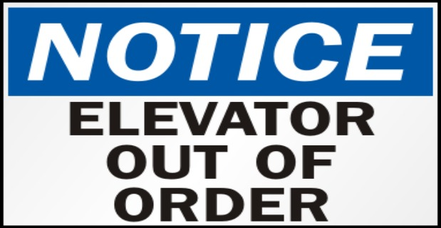 PTCondo.com Elevator #3 Out of Service