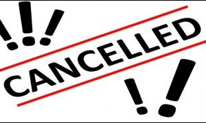 Image result for cancelled meeting