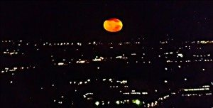 5401 Michael Parrie Angry Moon Sets Over Edgewater