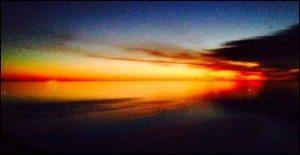 C Kestler pre sunrise over lk MI 4501